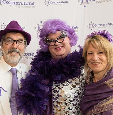 Purple Tie Gala Attendees